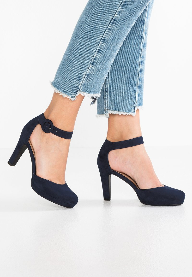 Anna Field - Højhælede pumps - dark blue