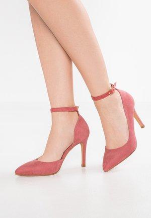 Lodičky na vysokém podpatku - rose