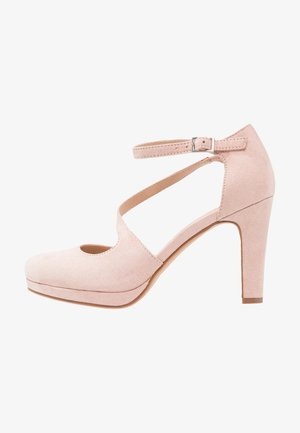 High Heel Pumps - rose