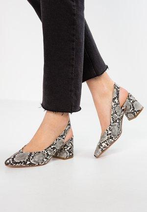 Classic heels - grey