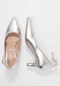 Anna Field - Classic heels - silver - 3