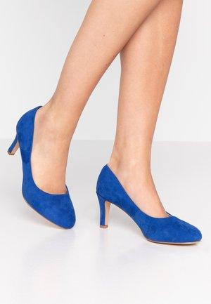 Czółenka - blue