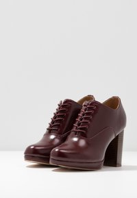 Anna Field - High heeled ankle boots - berry