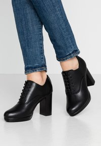 Anna Field - High heeled ankle boots - black - 0