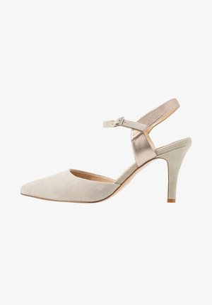 LEATHER PUMPS - Klassiske pumps - grey