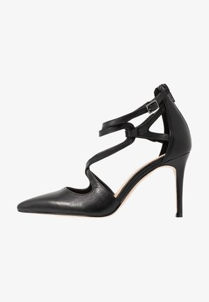 LEATHER PUMPS - Klassieke pumps - black