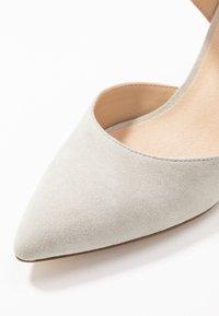 Anna Field - LEATHER CLASSIC HEELS - High heels - grey - 2