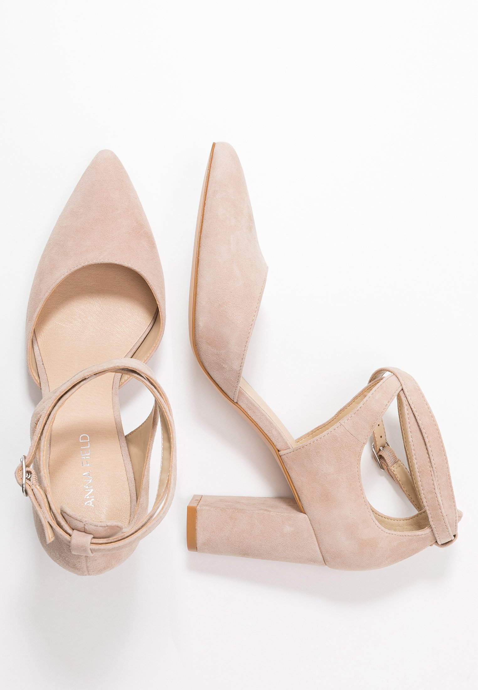 Anna Field Leather Classic Heels - Højhælede Pumps Nude