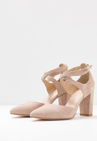 Anna Field - LEATHER CLASSIC HEELS - High heels - nude - 4