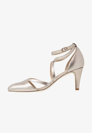 LEATHER - Pumps - beige
