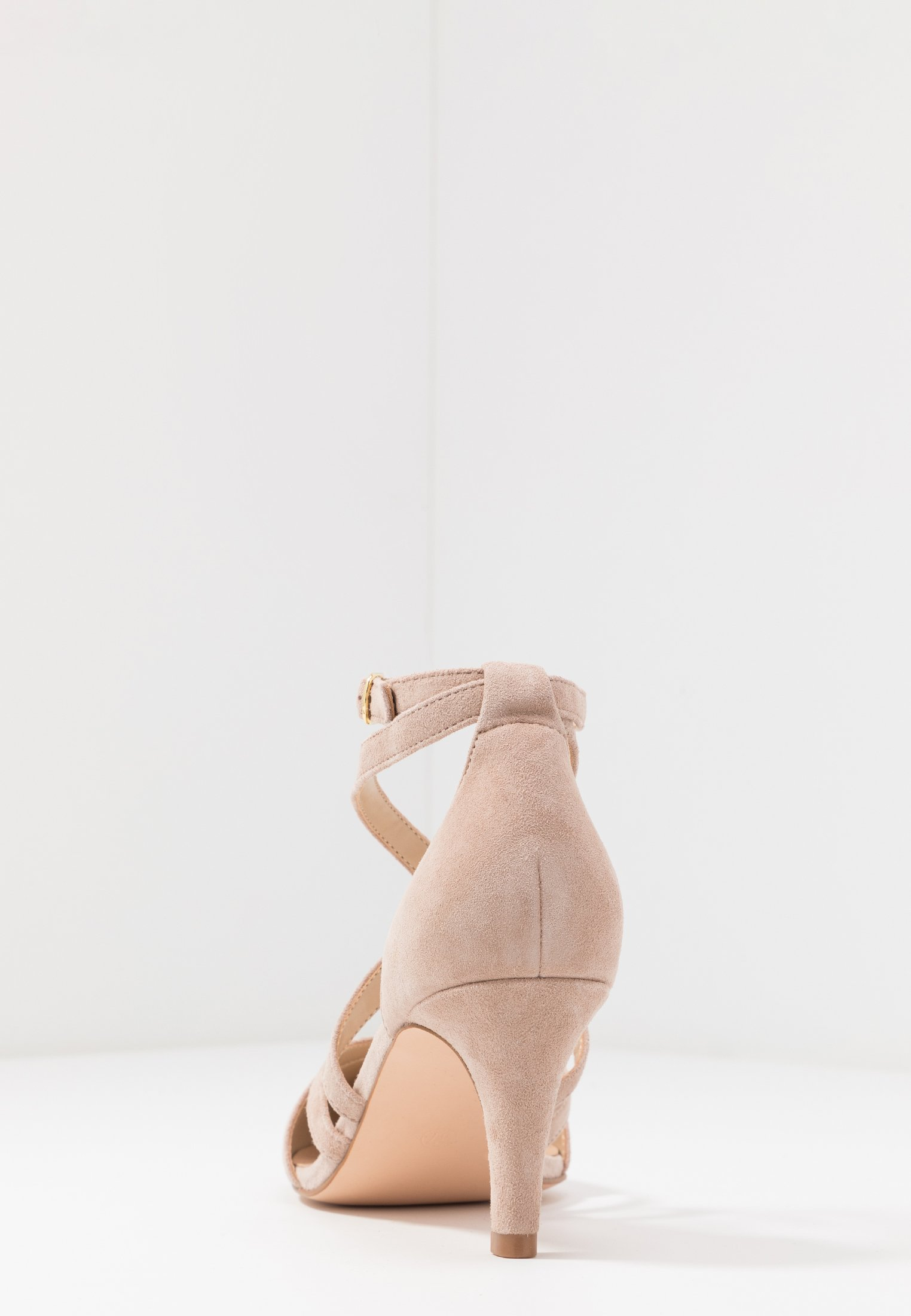 Anna Field LEATHER CLASSIC HEELS - Tacones - nude