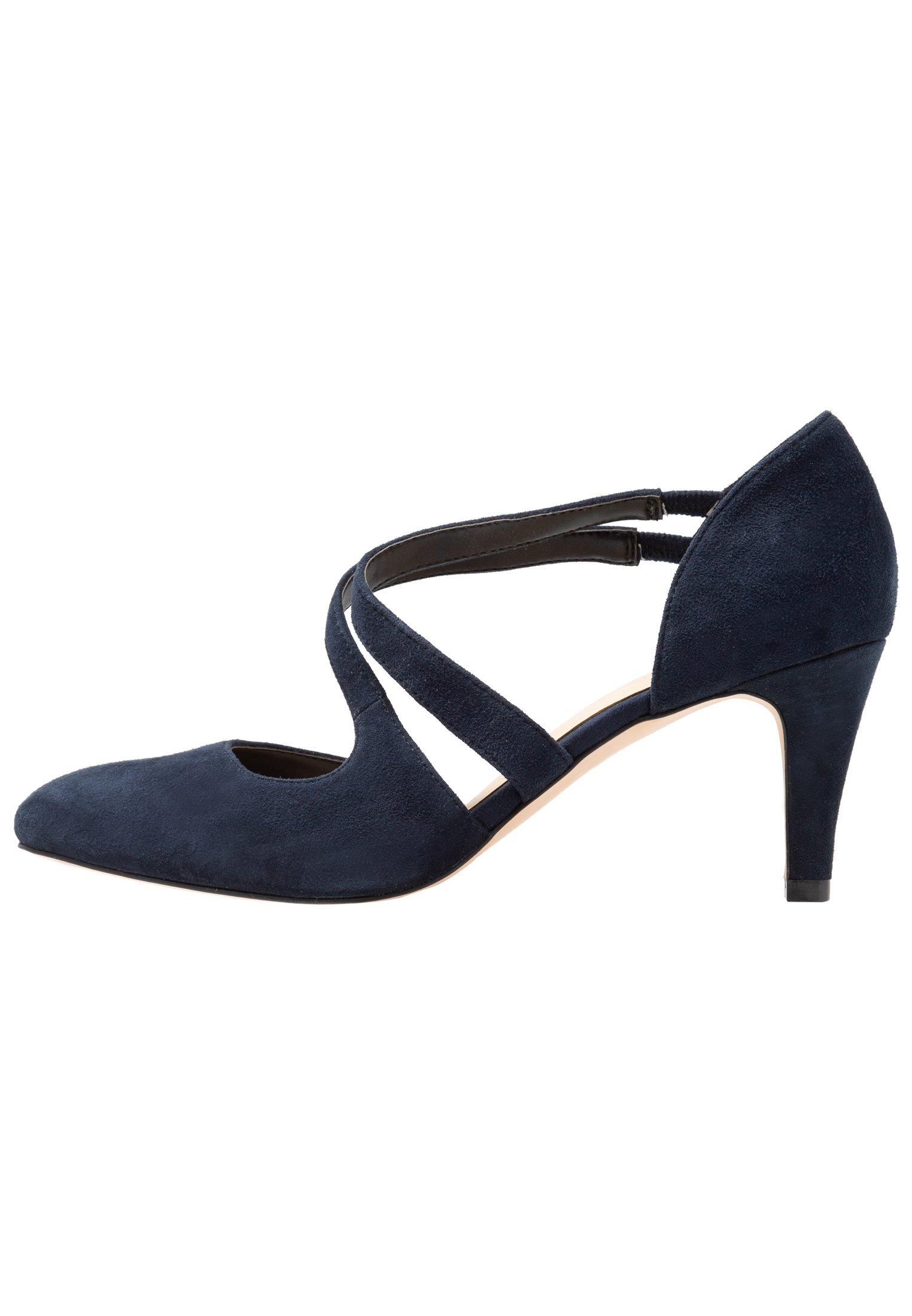 Anna Field LEATHER PUMPS - Decolleté - dark blue