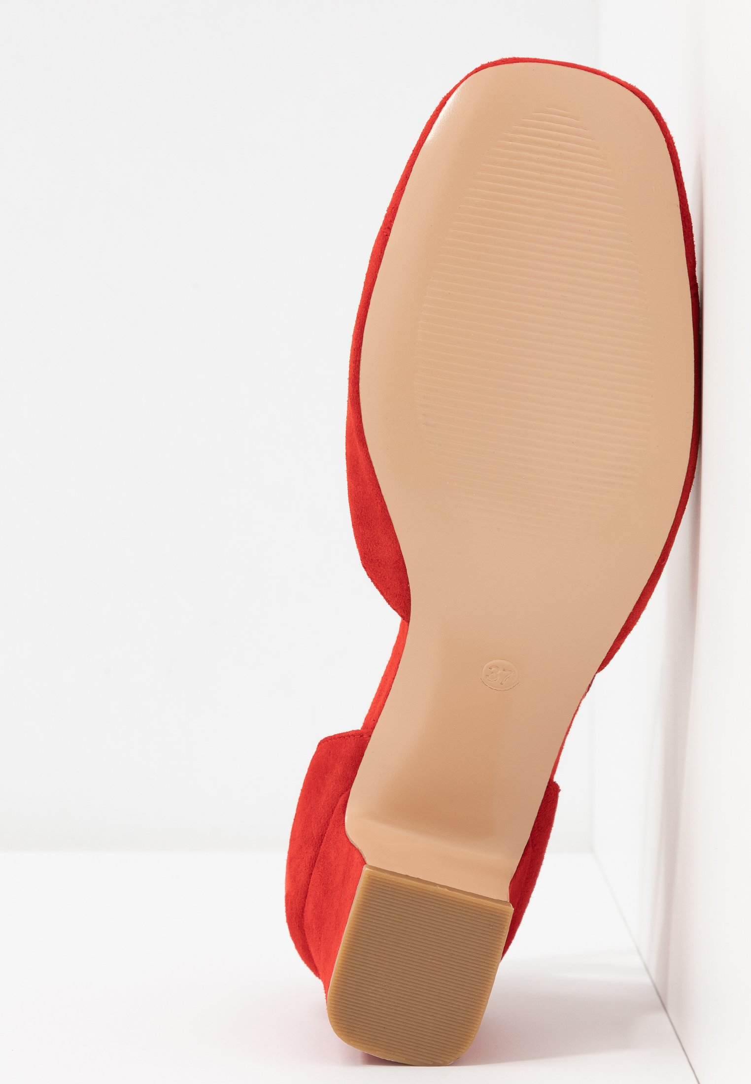 Anna Field Leather Pumps - Red