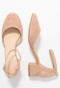 Anna Field - LEATHER CLASSIC HEELS - Klassieke pumps - nude - 3