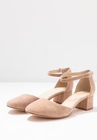 Anna Field - LEATHER CLASSIC HEELS - Klassieke pumps - nude - 4