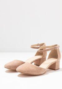 Anna Field - LEATHER CLASSIC HEELS - Classic heels - nude - 4