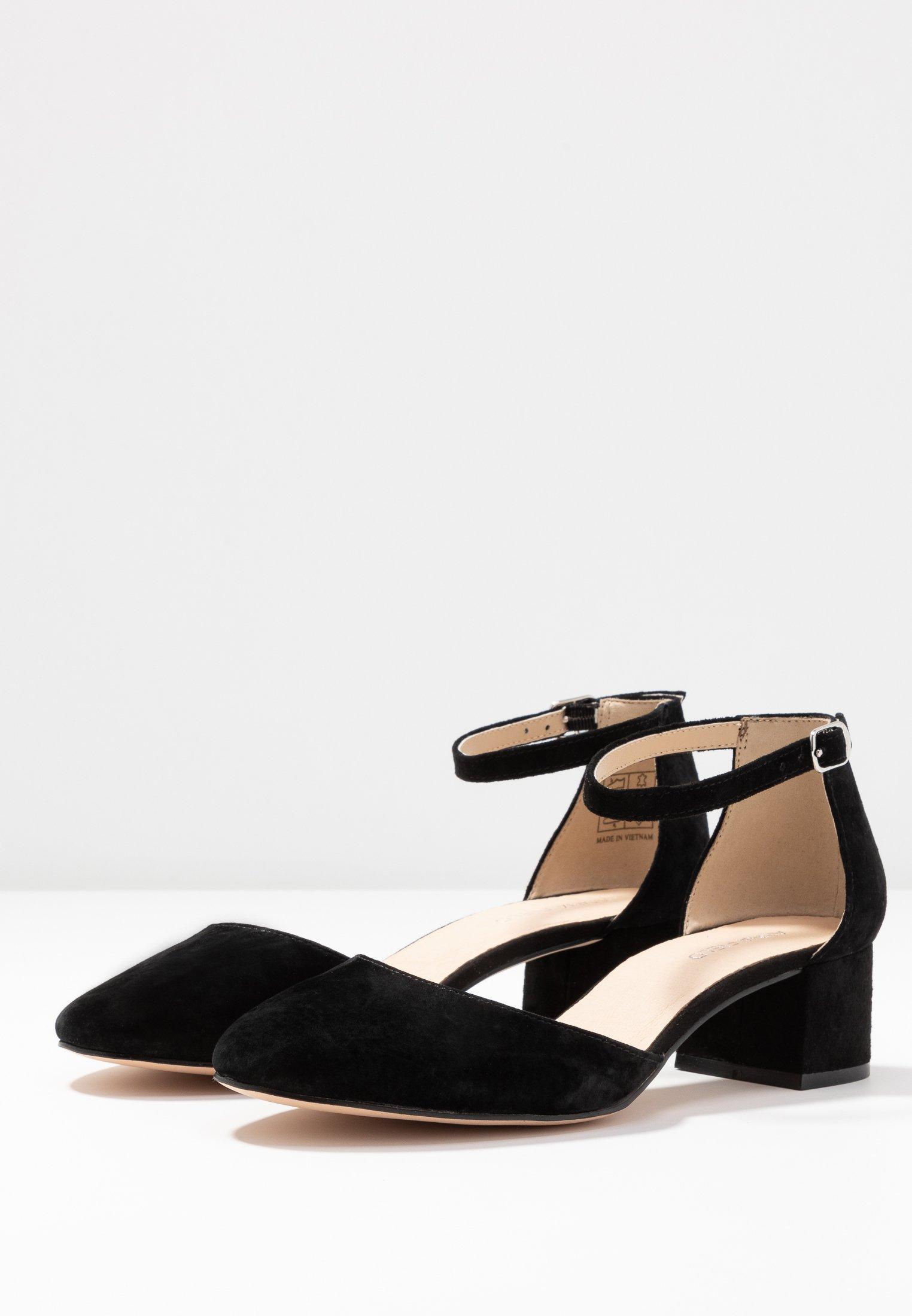 Anna Field Leather Classic Heels - Klassieke Pumps Black Goedkope Schoenen