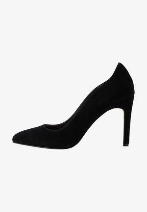 LEATHER HIGH HEELS - Klassiska pumps - black