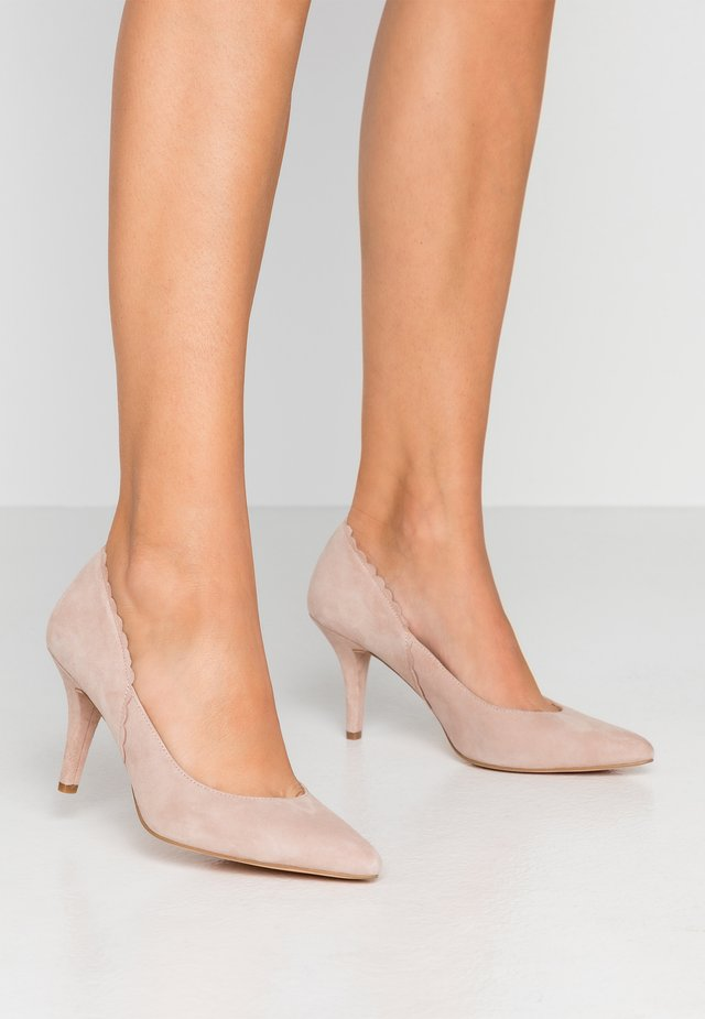 LEATHER PUMPS - Klassieke pumps - beige