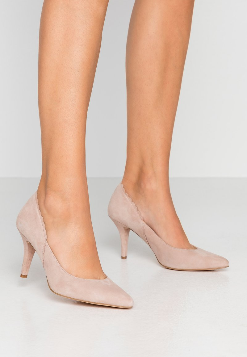 Anna Field - LEATHER PUMPS - Classic heels - beige