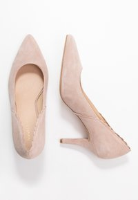 Anna Field - LEATHER PUMPS - Classic heels - beige - 3