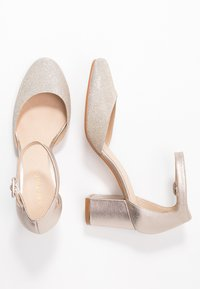 Anna Field - LEATHER CLASSIC HEELS - Klassieke pumps - beige - 3