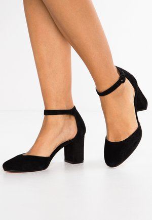 LEATHER CLASSIC HEELS - Escarpins - black