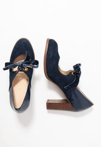 Anna Field - LEATHER PUMPS - Klassiske pumps - dark blue - 3
