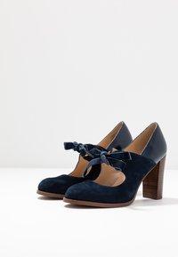 Anna Field - LEATHER PUMPS - Klassiske pumps - dark blue - 4