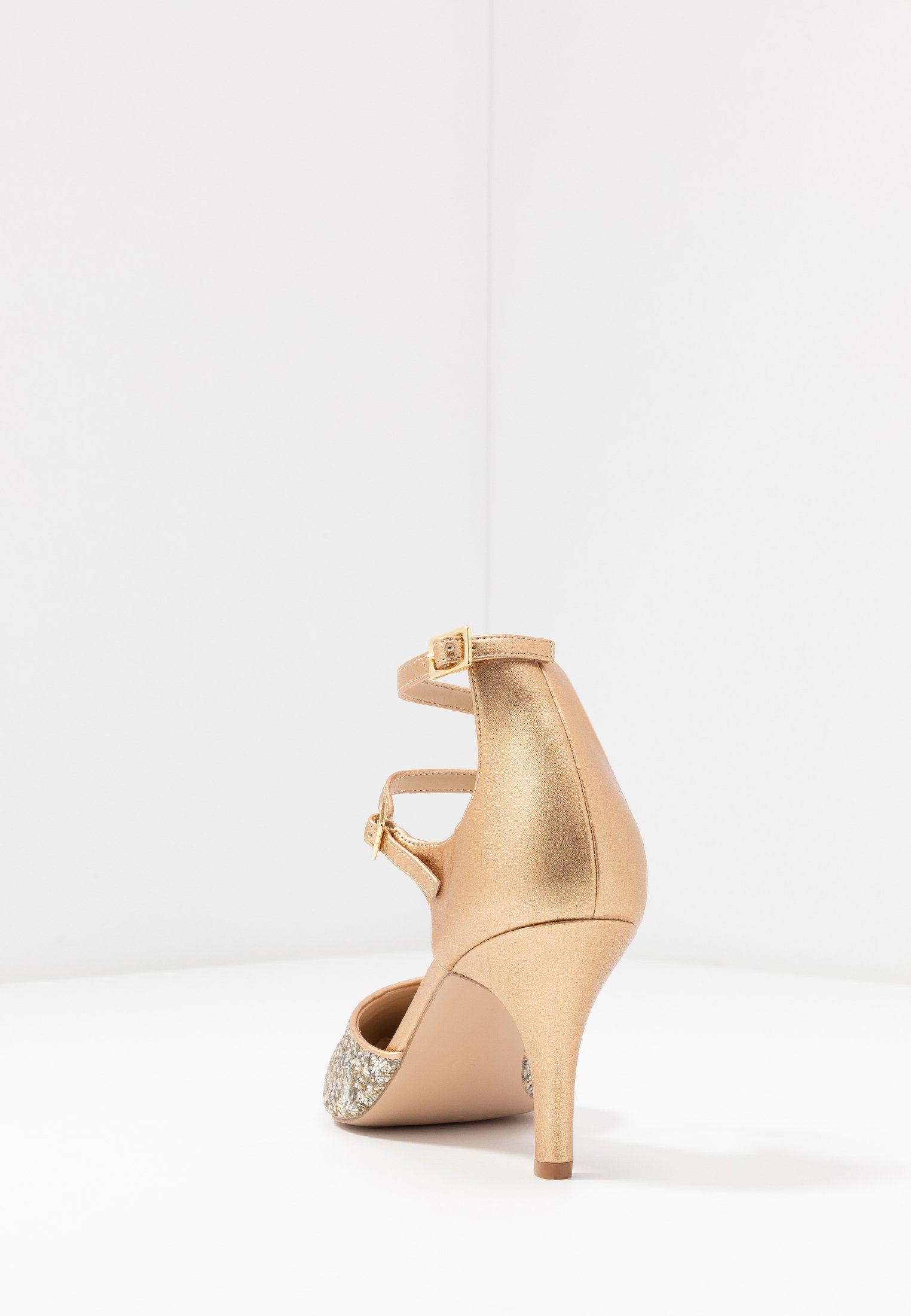 Anna Field Leather Pumps - Classic Heels Gold