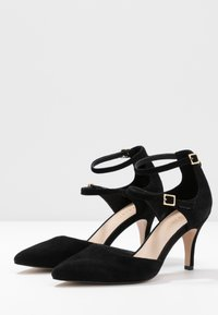 Anna Field - LEATHER PUMPS - Classic heels - black - 5