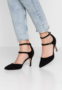 Anna Field - LEATHER PUMPS - Classic heels - black - 0