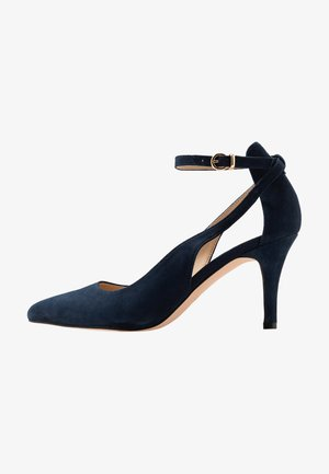 LEATHER PUMPS - Klassiska pumps - dark blue
