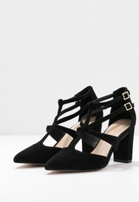 Anna Field - LEATHER PUMPS - Klassiske pumps - black - 4