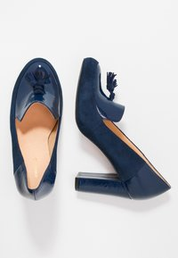 Anna Field - LEATHER PUMPS - Pumps - dark blue - 3