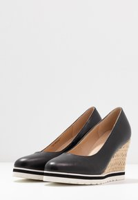Anna Field - LEATHER HIGH HEELS - High heels - black - 4