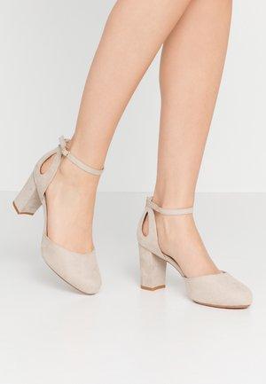 Høye hæler - taupe