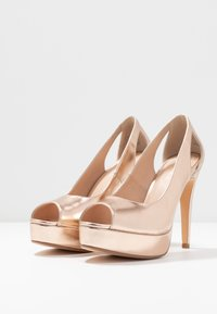 Anna Field - Peeptoe heels - rose gold - 4