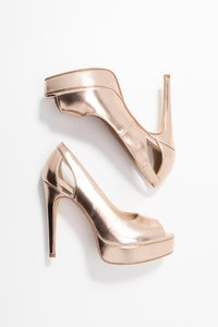 Anna Field - Peeptoe heels - rose gold - 3