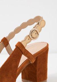 Anna Field - LEATHER CLASSIC HEELS - Classic heels - light brown - 2