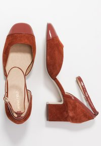 Anna Field - LEATHER PUMPS - Classic heels - brown - 3
