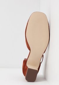 Anna Field - LEATHER PUMPS - Classic heels - brown - 6