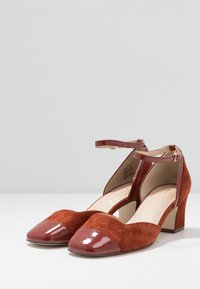 Anna Field - LEATHER PUMPS - Classic heels - brown - 4
