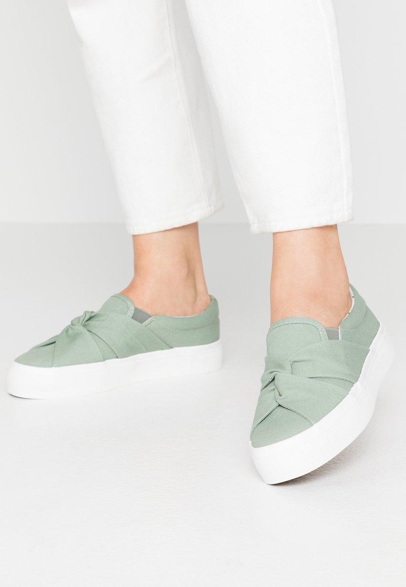 Anna Field - Slippers - mint