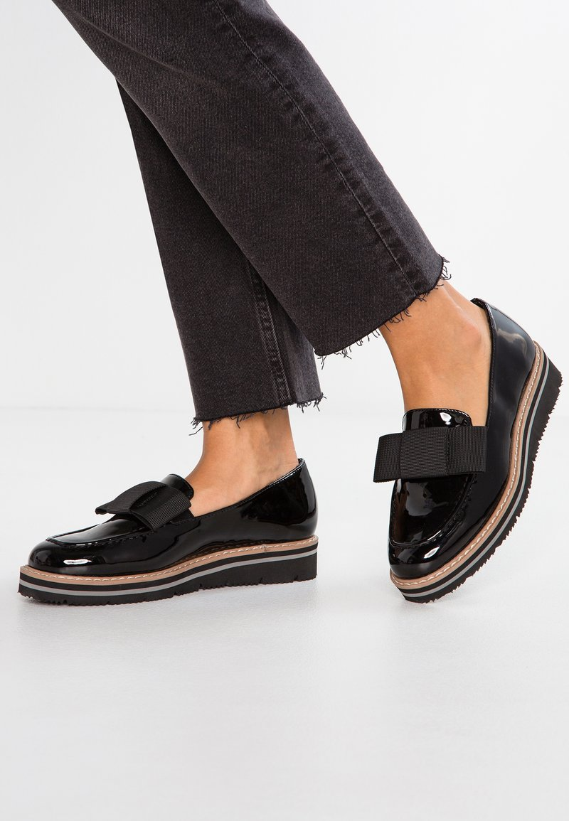 Anna Field - Loaferit/pistokkaat - black