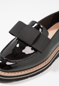 Anna Field - Loaferit/pistokkaat - black - 2