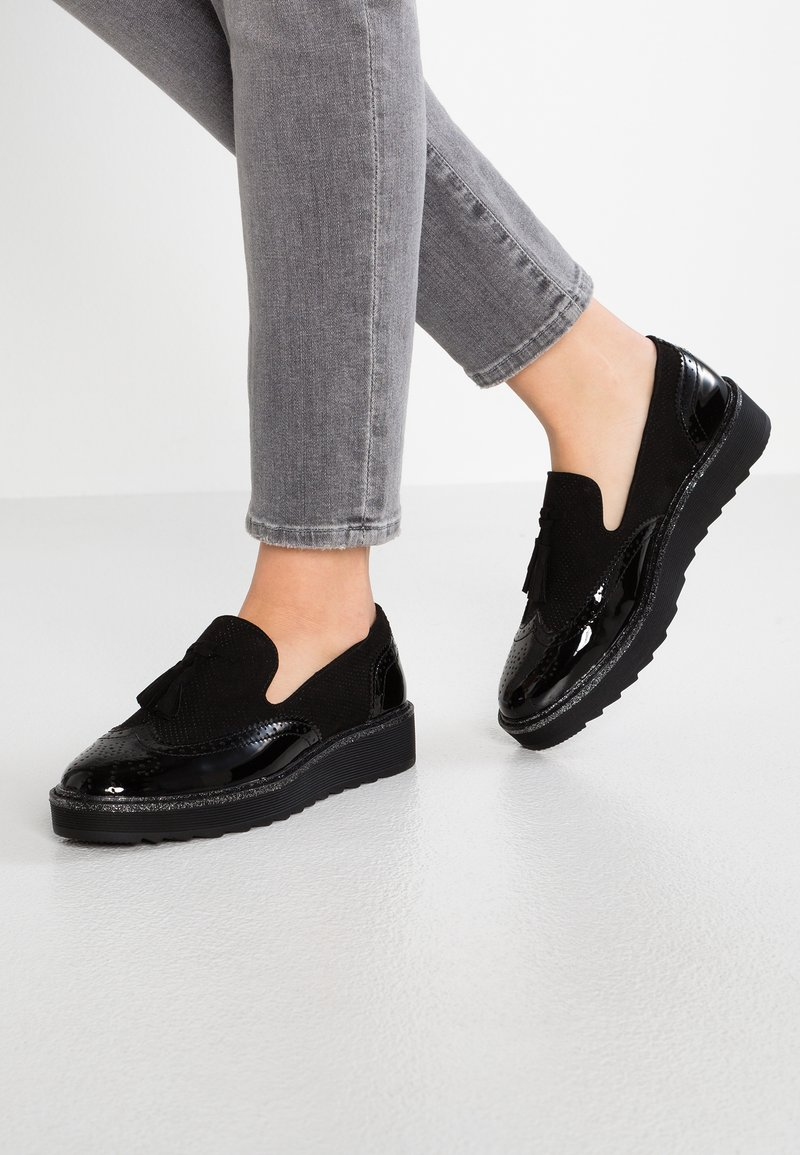 Anna Field - Slippers - black