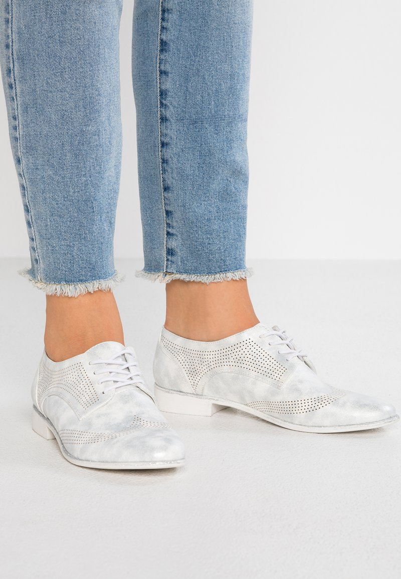 Anna Field - Lace-ups - silver