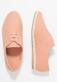 Anna Field - Zapatos con cordones - pink - 3
