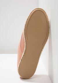 Anna Field - Zapatos con cordones - pink - 6